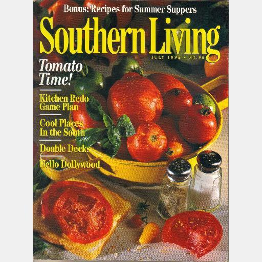 SOUTHERN LIVING July 1995 DOLLYWOOD Dolly Parton JOE KUPKE Doug Kay Flory Garden Jim Jackie Conn