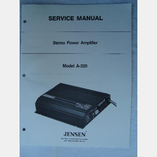jensen manual download