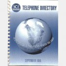 ICI Americas 1996 PHONE DIRECTORY US United States Melinex Acrylics Paints Surfactants