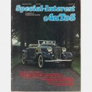 SPECIAL INTEREST AUTOS September October 1976 1936 FORD ROADSTER 1932 DeSoto 1956 Packard Patrician