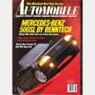 AUTOMOBILE Magazine July 1991 Range Rover County SE MERCEDES BENZ 500SL Olds W41 Quad 442