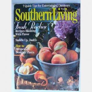 SOUTHERN LIVING June 1993 Missouri Botanical Garden Bill Westbrook Weems Cottage Charles Aquino