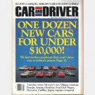 CAR AND DRIVER July 1992 MUSTANG SHELBY COBRA Porsche 911 Jaguar XJS Mercedes 300SL Passat GL