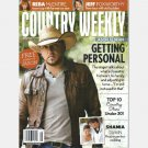 COUNTRY WEEKLY January 31 2011 JASON ALDEAN poster Reba McEntire Joe Diffie Easton Corbin Jake Owen