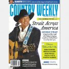 COUNTRY WEEKLY January 24 2011 GEORGE STRAIT ACROSS AMERICA Poster Jake Owen Brooks & Dunn