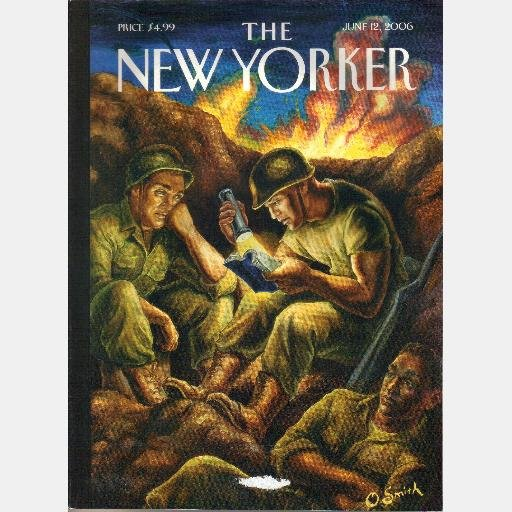 THE NEW YORKER June 12 2006 FOXHOLE FICTION MEETING Ezra Pound Samuel Hynes YUGOSLAVIA 1991