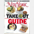 NEW YORK Magazine May 14 2001 Take Out Guide Anna Kournikova LYCOS ad