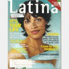 LATINA October 2001 ROSARIO DAWSON Joy Montoya Carolina Hospital Carolyn Curiel
