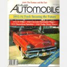 COLLECTIBLE AUTOMOBILE February 1990 Vol 6 1953 Ford Crestline Sunliner 1952 1955 Willys