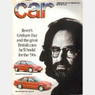 CAR Magazine April 1987 AUSTIN ROVER'S GRAHAM DAY Richard Bremner Allegro 1100 Gavin Green