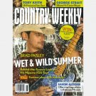 COUNTRY WEEKLY June 28 2010 BRAD PAISLEY wet wild summer H20 JASON ALDEAN  Toby Keith