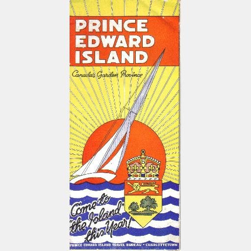 Prince Edward Island Canada 39 S Garden Province Fold Out