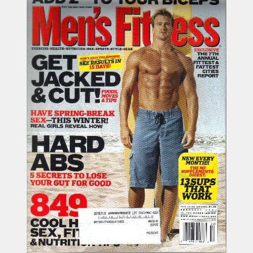 analysis of mens fitness magazines Health & fitness family travel and high-end women's magazines are desperate to appeal to this new generation of reader a media analyst at enders analysis.