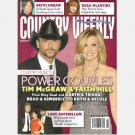 COUNTRY WEEKLY March 1 2010 Power Couples Tim McGraw Faith Hill LADY ANTEBELLUM Ronnie Dunn