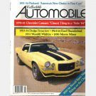 COLLECTIBLE AUTOMOBILE February 1992 1970 Chevrolet Camaro Hurst Z28 Sunshine 1953 Woodill Wildfire