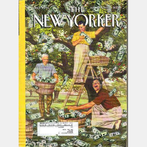 THE NEW YORKER April 24 May 1 2000 THE MONEY TREE Winston Smith The Fountainhead Alan Greenspan