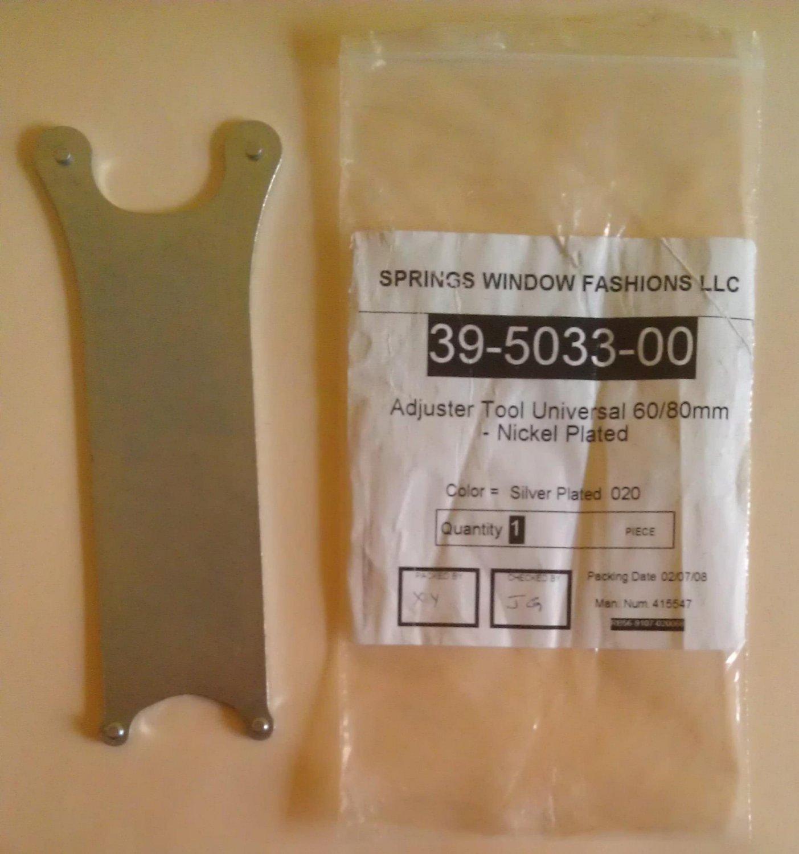 Spring Window Fashions Hunter Douglas Adjuster wrench tool universal 60/80 mm 39-5033-00