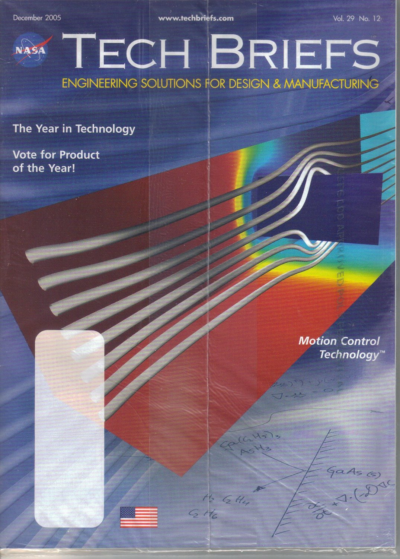NASA Tech Briefs December 2005 magazine Chimera Grid Tools ...