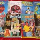 Lot 19 Children Magazines 1998 1997 Ranger Rick KID CITY Spider LADYBUG Big Backyard Click WORLD