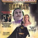 Cinefantastique Magazine, Special Double Issue, November 1989-Batman-Tim Burton-Beetlejuice