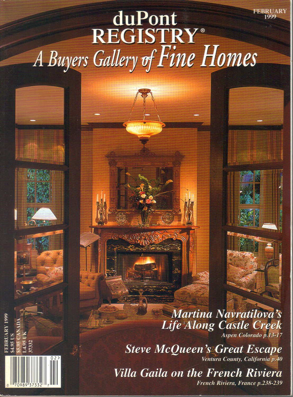 duPont Registry A Buyers Gallery of Fine Homes Magazine-February 1999- Martina Navratilova Aspen
