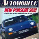 AUTOMOBILE Magazine-September 1991-Porsche 968-Pontiac Firebird Trans Am Convertible