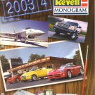 Revell Monogram Catalogue of Model Kits-2003-2004-lowriders-drag racers-Stock cars