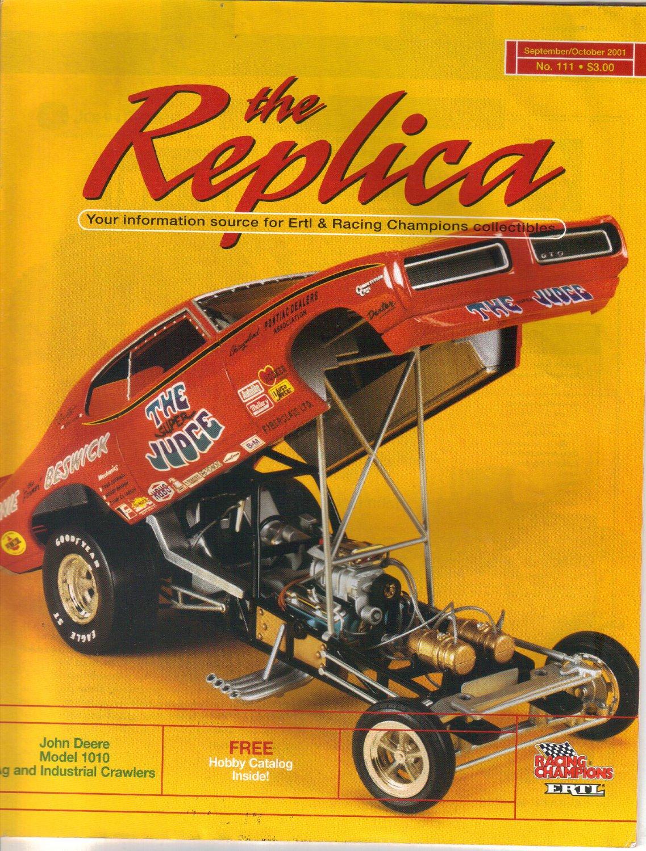 The Replica, Ertl & Racing Champion Collectibles-September October 2001-John Deere 7510-9220 Tractor