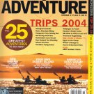 National Geographic Adventure November 2003-Okefenokee-Thailand Poison Caves CO2
