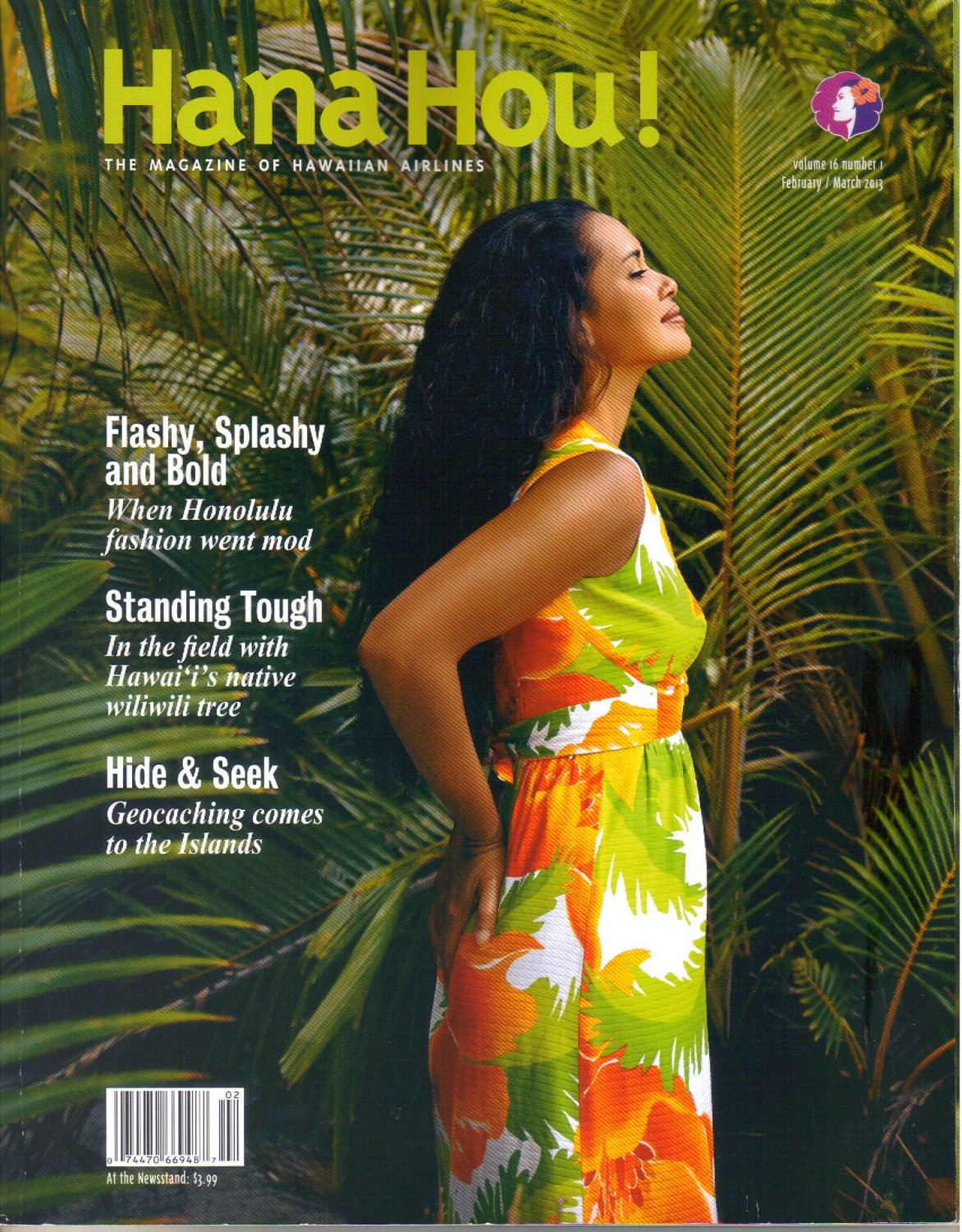 Hana Hou-Magazine of Hawaiian Airlines-February March 2013-Chika Tanaka-Canoes-Sonny Bradley