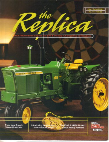 The Replica-Ertl Racing Champion Collectibles-July August 2001-3010-110 LGT-620 High Crop-6X4 Gator