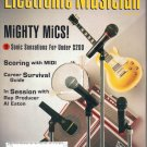 Electronic Musician Magazine-April 1995-Al Eaton-Paul Haslinger, JumpCut Orchestra-Chris Florio