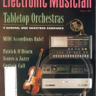 Electronic Musician Magazine-March 1995-Patrick O'Hearn-Kawai GMega-Roland SC-88 Sound Canvas