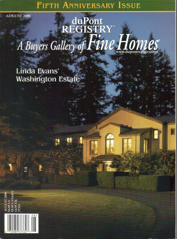 duPont Registry A Buyers Gallery of Fine Homes Magazine August 2000 Linda Evans estate-Villa Madera