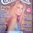 Country Music Magazine December 2000 January 2001-Faith Hill-Billy Ray Cyrus-Patty Loveless