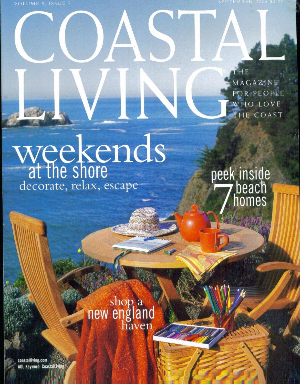 Coastal Living Magazine-September 2005-Chef Luis Solano-Ray-Justin Abrams-Shari Coryat