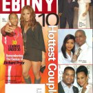 EBONY February 2006 10 Hottest Couples Kirk Tammy Franklin Janet Jackson Jermaine Dupri