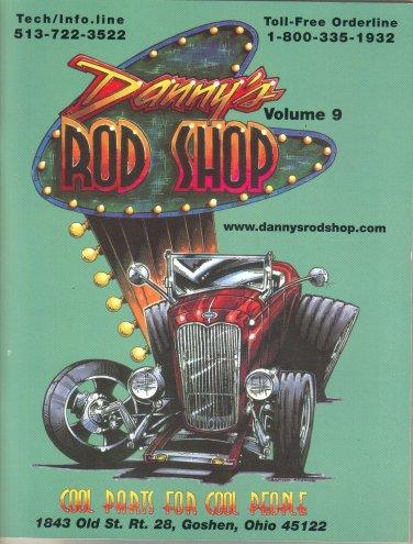 DANNY'S ROD SHOP catalog VOLUME 9 2000 Goshen OH Small Block Big Block Chevy Parts