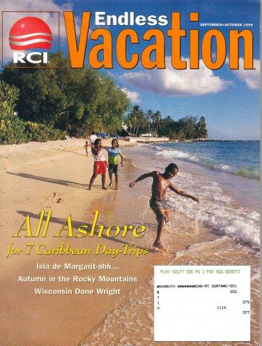 RCI Endless Vacation Magazine- September October 1999-Frank Loyd Wright-Wisconsin-Isla de Margarita