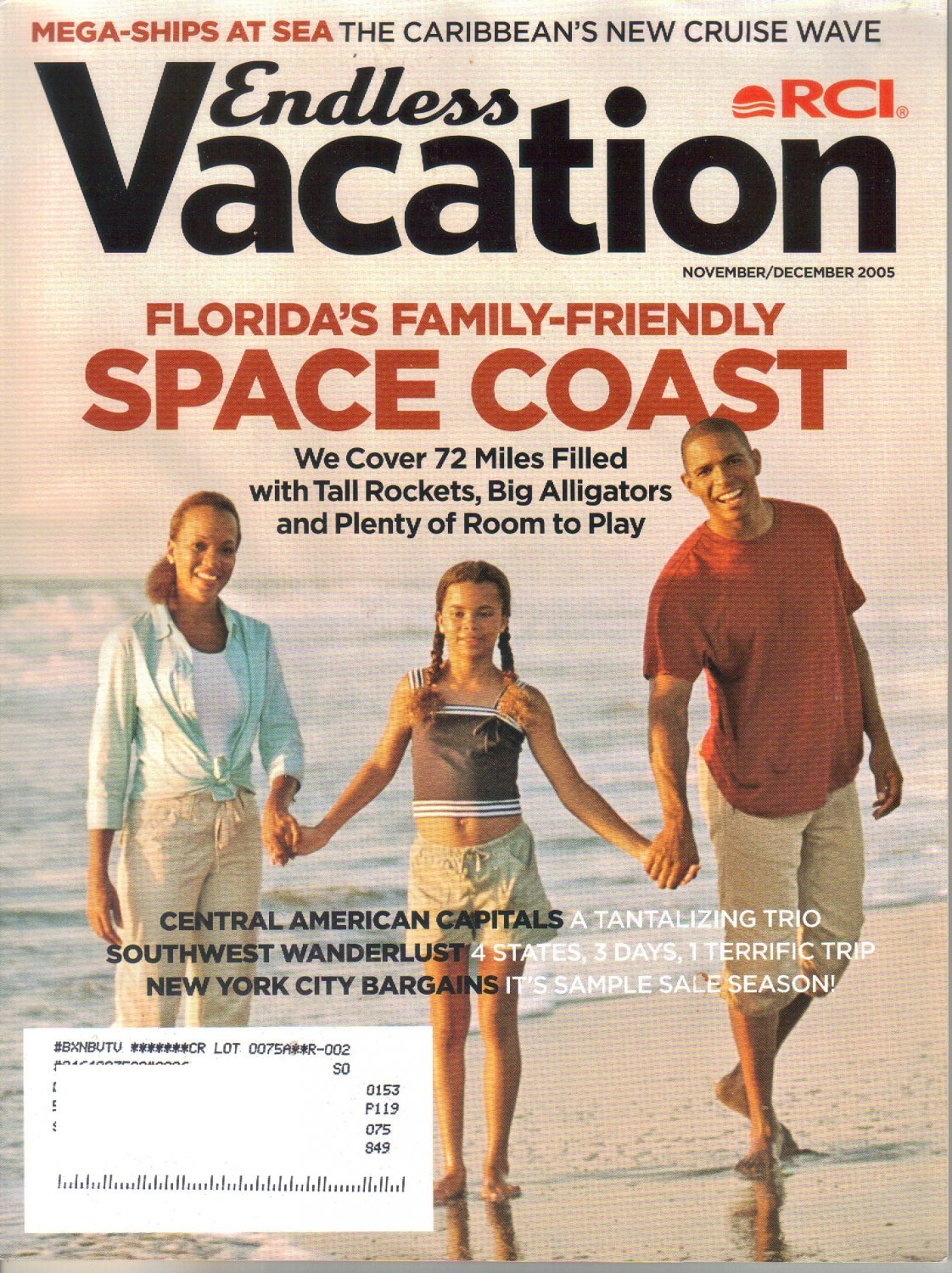 RCI Endless Vacation Magazine November December-Florida ...