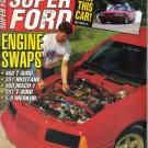 Super Ford Magazine October 1991-Jeff Gordon-5.0 L Merkur XR8Ti-Jerry Sparling-1956 T-Bird