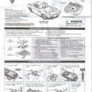 Finn McMissile Zero Gravity RC Radio Controlled Car, Instruction Manual Guide, Disney Pixar