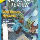 NATIONAL REVIEW July 8 1988 Wall Street Hysteria Andrew Redleaf Clarence Pendleton