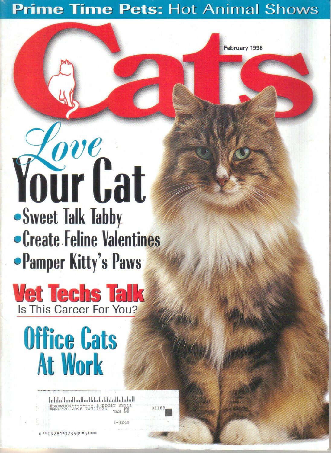 CATS February 1998 No Kill Agenda Ellen Perry Berkeley Shanon Jackson Pam Dickens