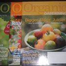 Organic Gardening Magazine LOT 3 issues 2006 April May June July August September RODALE
