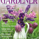 COUNTRY LIVING GARDENER April 2001 Magazine