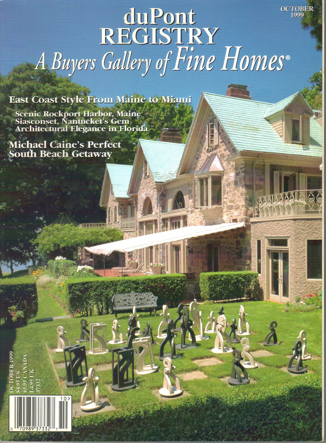duPont Registry A Buyers Gallery of Fine Homes-October 1999-Whoopi Goldberg-West Cornwall