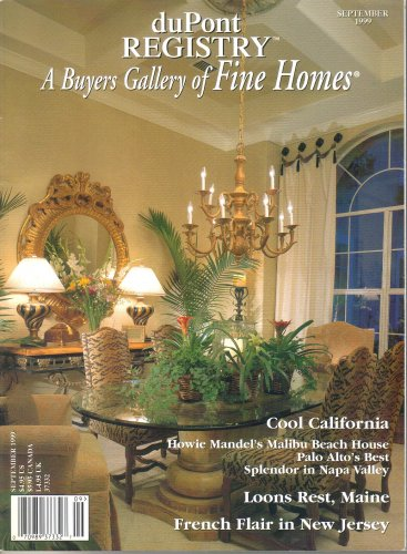 duPont Registry A Buyers Gallery of Fine Homes-September 1999-Howie Mandel-Malibu