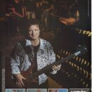 Jack Bruce WARWICK Bass Guitars KAMAN Musical Creativity Taking Shape Print ad advertisement 1991