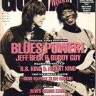 GUITAR WORLD July 1991 Jeff Beck Buddy Guy Stevie Ray's National Duolian POSTER BB Albert King